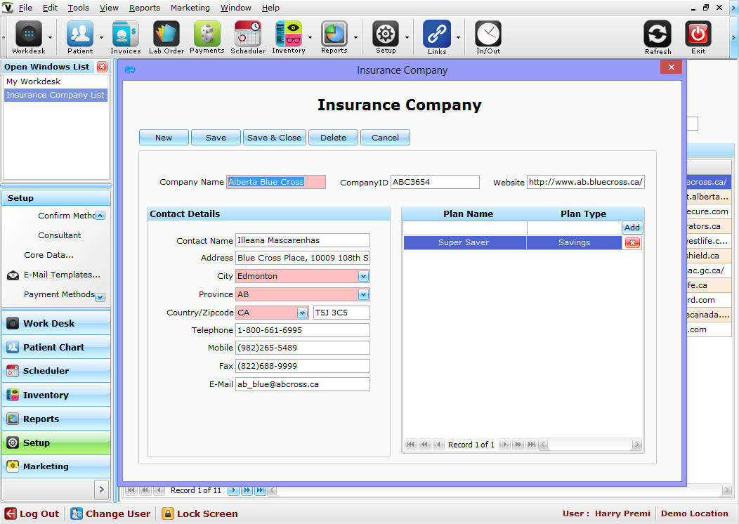 Visionpro POS Optician Software - Advanced Features